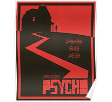 Psycho - Movie Poster Poster