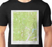 USGS TOPO Map Arkansas AR Mountainburg 259172 1969 24000 Unisex T-Shirt