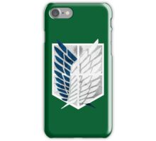 Survey Corps iPhone Case/Skin