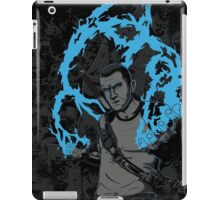 inFAMOUS2 Cole Ink  iPad Case/Skin