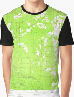 USGS TOPO Map Arkansas AR Millerville 259101 1964 24000 Graphic T-Shirt