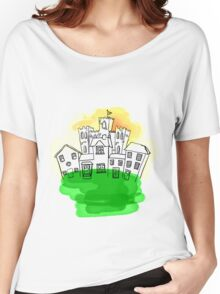 Castle Town Women's Relaxed Fit T-Shirt