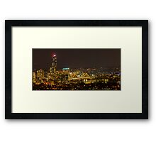 Storey Bridge and Brisbane Skyline Framed Print