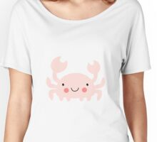 Pink Crab Girl Women's Relaxed Fit T-Shirt