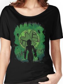 Earthquake's Queen. Women's Relaxed Fit T-Shirt