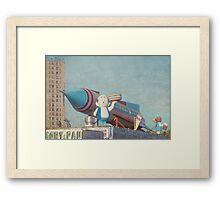 Astroland Park Retro Framed Print