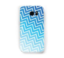 Blue ZigZag Samsung Galaxy Case/Skin