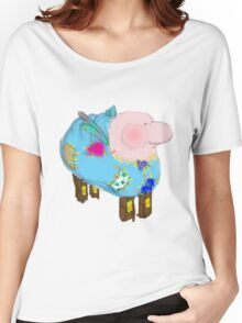 frankenstuffy Women's Relaxed Fit T-Shirt