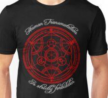Human Transmutation. Unisex T-Shirt
