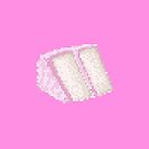 Pixel Food Series - Pink Cake Slice by TheGreys
