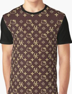 LOUIS VUITTON HELLO KITTY EDITION! Graphic T-Shirt