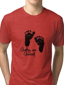 Baby On Board Tri-blend T-Shirt