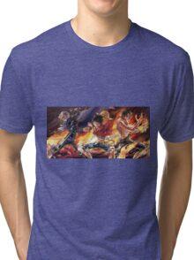 Sabo & Luffy & Ace Tri-blend T-Shirt