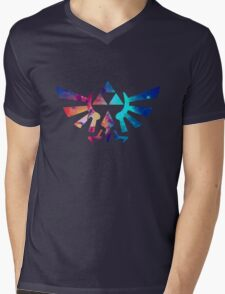 The legend of zelda Triforce Mens V-Neck T-Shirt