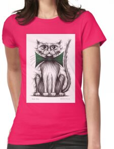 Posh puss Womens Fitted T-Shirt