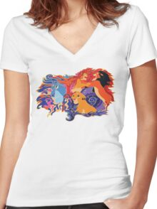 Remember Who You Are Women's Fitted V-Neck T-Shirt