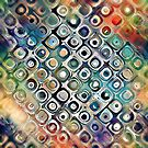 Colorful Circles Within Circles by Phil Perkins