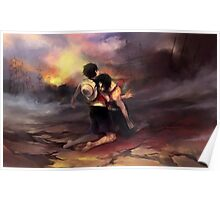 Ace & Luffy Poster