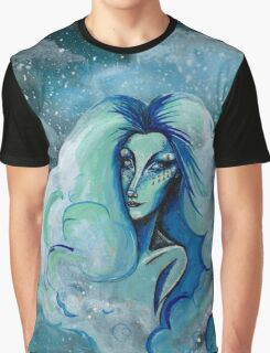 Cloud Betty ~ Lady In The Sky Graphic T-Shirt