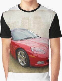 Red Corvette Graphic T-Shirt
