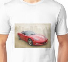 Red Corvette Unisex T-Shirt