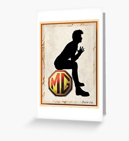 Think MG Greeting Card
