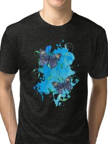 Watercolour Butterfly 09 Tri-blend T-Shirt