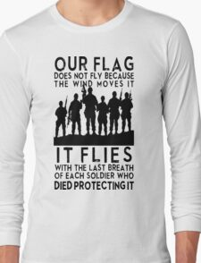 our flag Long Sleeve T-Shirt