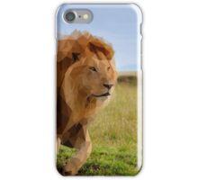 Geometric Lion Landscape iPhone Case/Skin