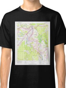 USGS TOPO Map Arkansas AR Fulton 258528 1951 24000 Classic T-Shirt