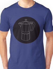 Moka Black Circle Unisex T-Shirt