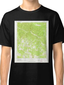 USGS TOPO Map Arkansas AR Onia 259314 1972 24000 Classic T-Shirt