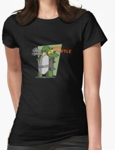 Turtle War Womens Fitted T-Shirt