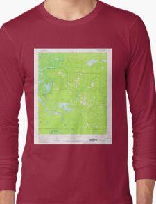 USGS TOPO Map Arkansas AR Felsenthal Dam 258449 1981 24000 Long Sleeve T-Shirt