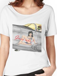 Fighter Nose Art - Guess who ! Women's Relaxed Fit T-Shirt
