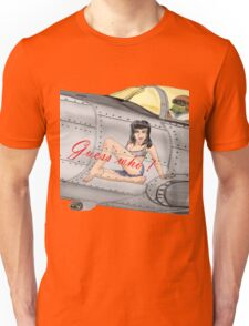 Fighter Nose Art - Guess who ! Unisex T-Shirt