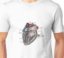 Vintage Anatomical Heart Unisex T-Shirt