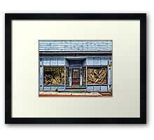 KARATE 23 Framed Print