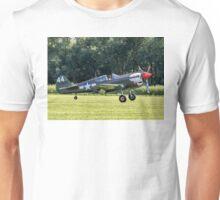 Curtiss P-40M Kittyhawk 43-5802 G-KITT Unisex T-Shirt