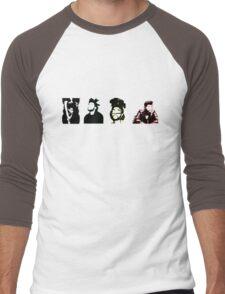 Silhouettes Men's Baseball ¾ T-Shirt