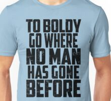 Star Trek - To Boldly Go! Unisex T-Shirt