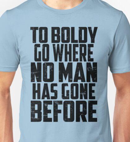 Star Trek - To Boldly Go! Unisex T-Shirt