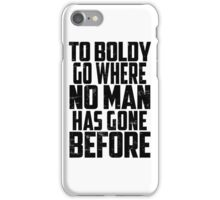 Star Trek - To Boldly Go! iPhone Case/Skin