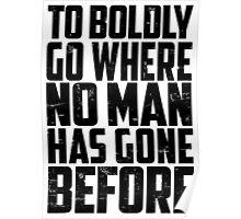 Star Trek - To Boldly Go! Poster