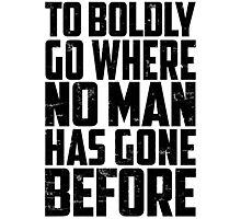 Star Trek - To Boldly Go! Photographic Print