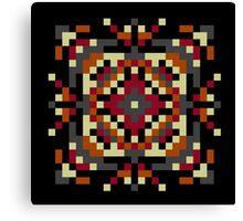 Pixel puke No. 6 Icon Canvas Print