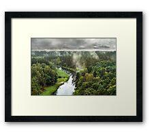 After the rain Framed Print