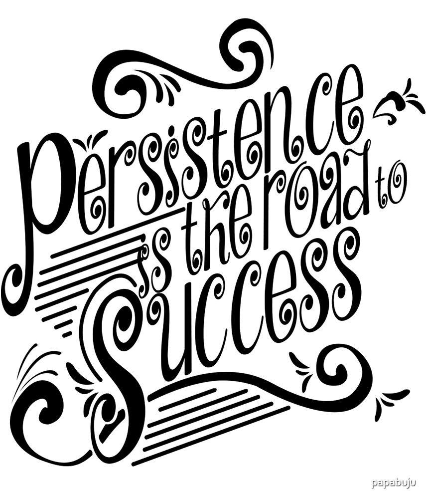 Persistence Is The Road To Success by papabuju