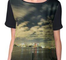 Sydney Harbour Bridge Chiffon Top