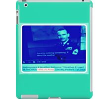 ARMY WEATHER iPad Case/Skin